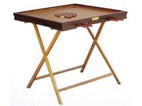 红木边框康乐球桌
